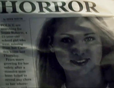 Giselle Bowyer in the newspaper